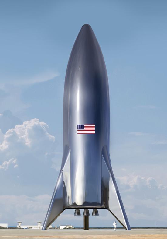 马斯克的星际梦 SpaceX最新飞船概念图曝光