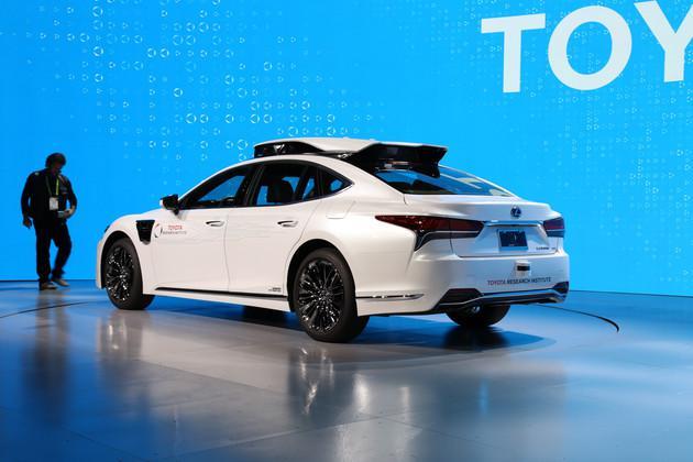 基于LS打造 丰田发布L4自动驾驶原型车