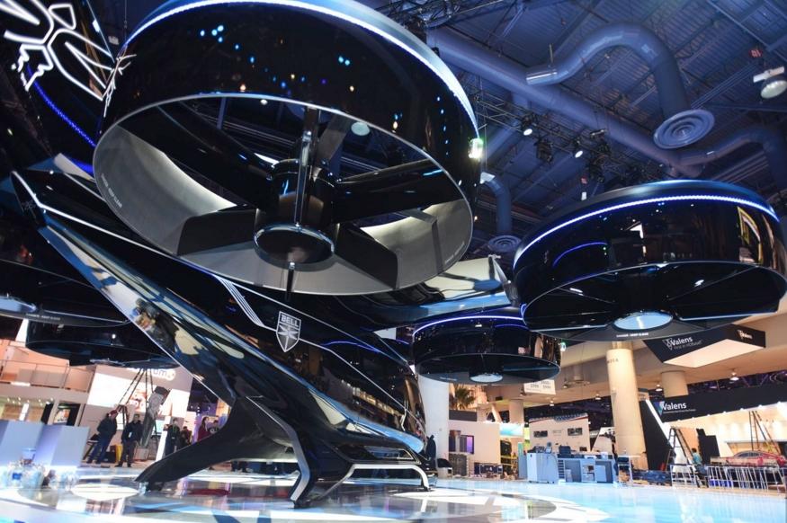 2019 CES:贝尔展示空中出租车 2020年投入运营