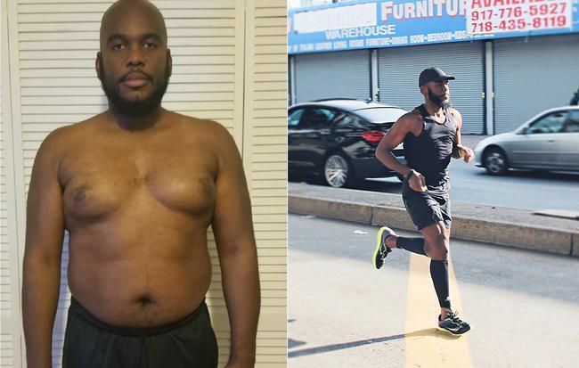 男医生超重自感惭愧 跑步8个月减90斤