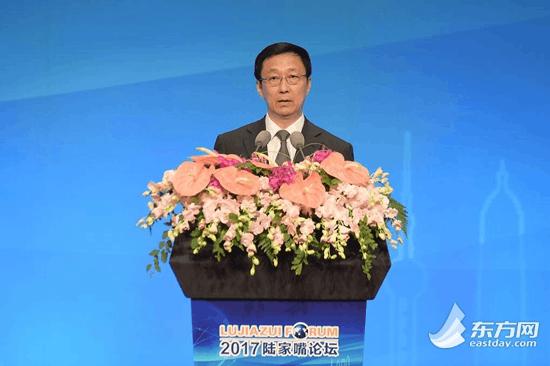 上海市委书记韩正:将进一步加快金融的改革创新