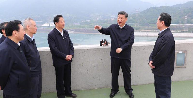 【视频】习近平总书记在宜昌