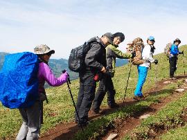 五台山中台被困22名游客得到妥善安置