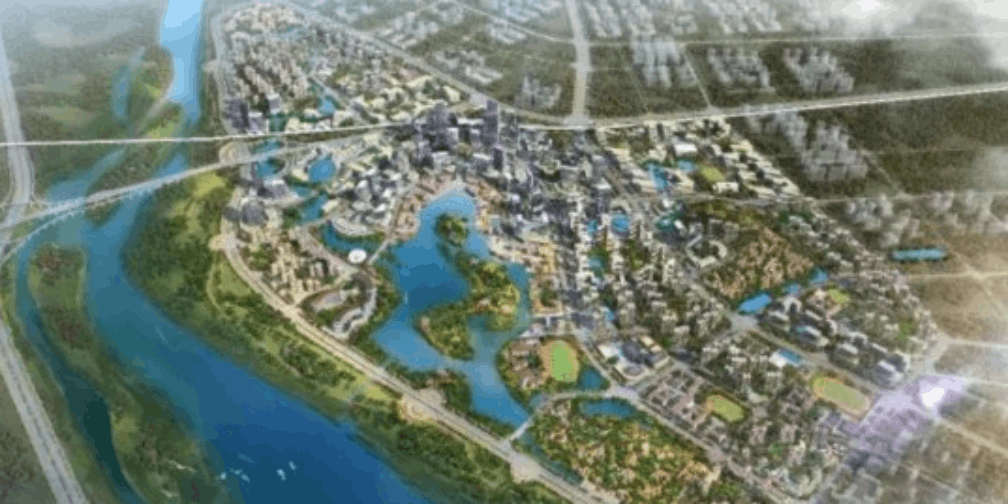 漳州市西湖生态园震撼推进 南山生态园征迁