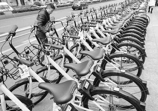滴滴上线自有单车品牌青桔 入局晚能否脱颖而出?