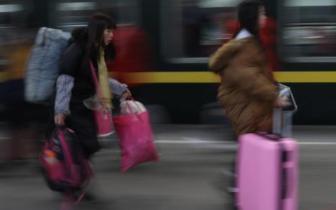 铁路迎返程高峰 2月20日预计发送旅客1060万人次
