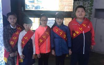 """镇江路街道举办海泊河文史风情馆""""小小讲解员""""评比活"""