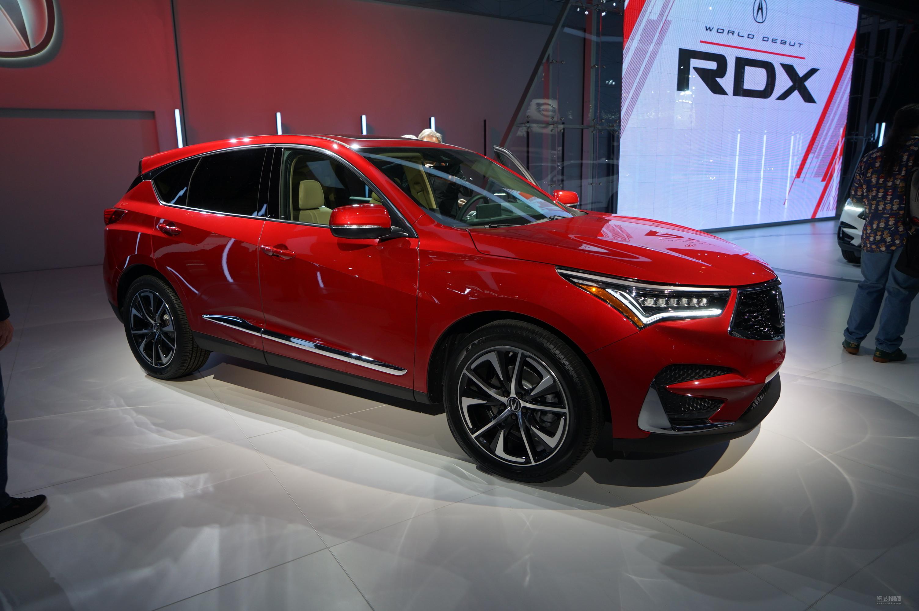 广汽讴歌年内国产 全新RDX量产版发布