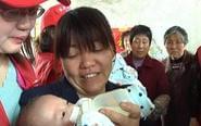 唇腭裂双胞胎远赴郑州 志愿者爱心相随