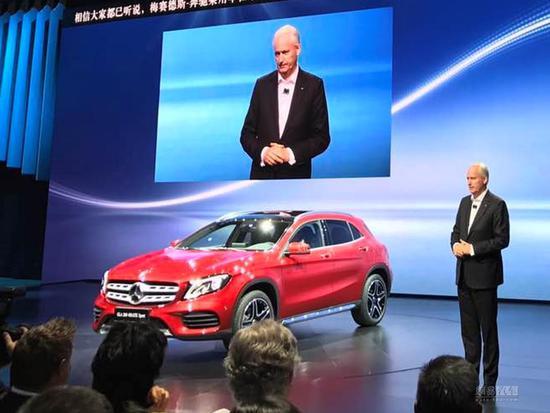 2017上海车展:奔驰新款GLA正式发布