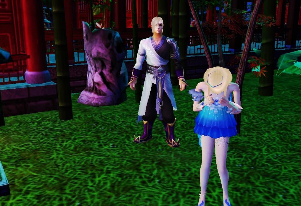 天龙八部玩家原创同人:三世情缘系列之并蒂莲