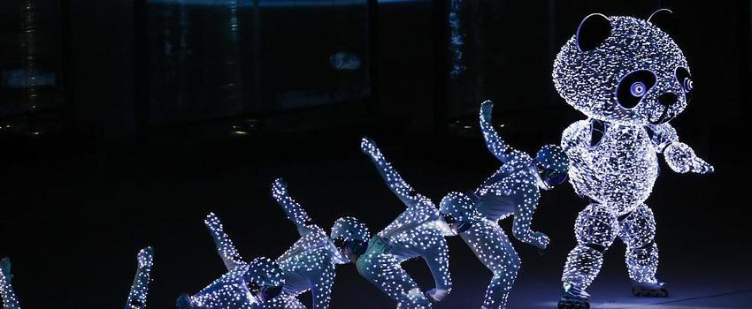 平昌冬奥北京8分钟 科技熊猫显礼仪大国风尚