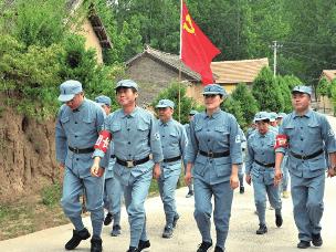 重走太岳革命路 体味红色经典追忆革命岁月