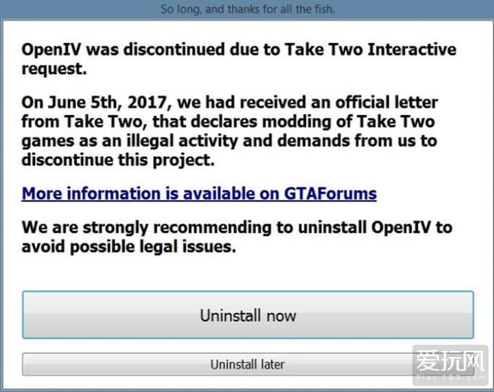 Open IV被叫停!《GTA V》玩家社区炸开锅