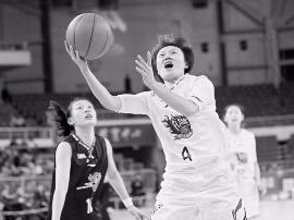 山西女篮82:88憾负北京队 遭遇本赛季主场首败