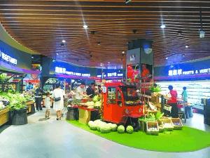 华冠超市尝试变革:生鲜占四成 在冒进还是升级?