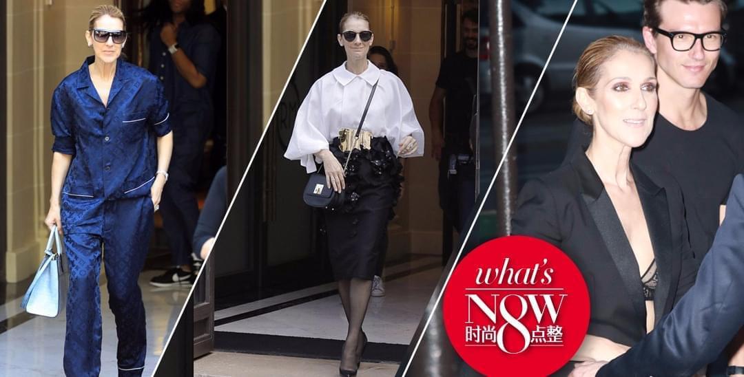 秒杀超模和网红 49岁的席琳迪翁才是时尚Queen