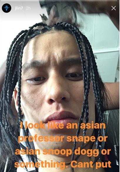 """林书豪秀脏辫发型 自称""""亚洲斯内普"""""""