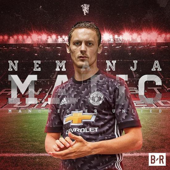 第3签!曼联宣布签下马蒂奇 转会费4000万镑签3年