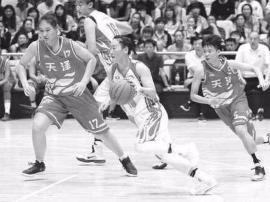"""山西女篮97:79陕西女篮 主客场""""双杀""""对手"""