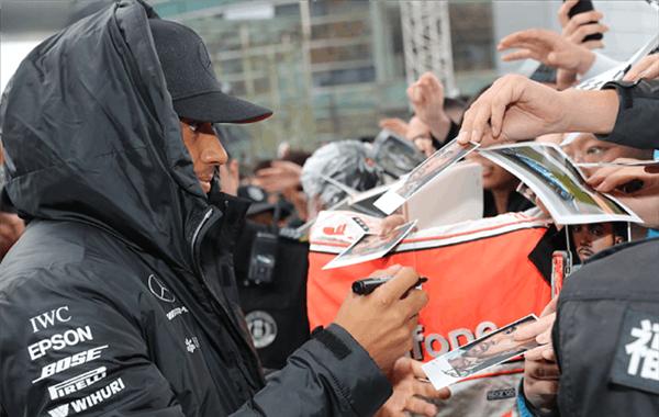 F1中国站小汉莱科宁受热捧
