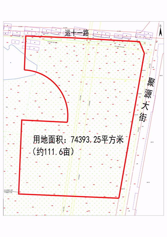 运河大社区西区建设项目一期建设用地规划许可批前公示