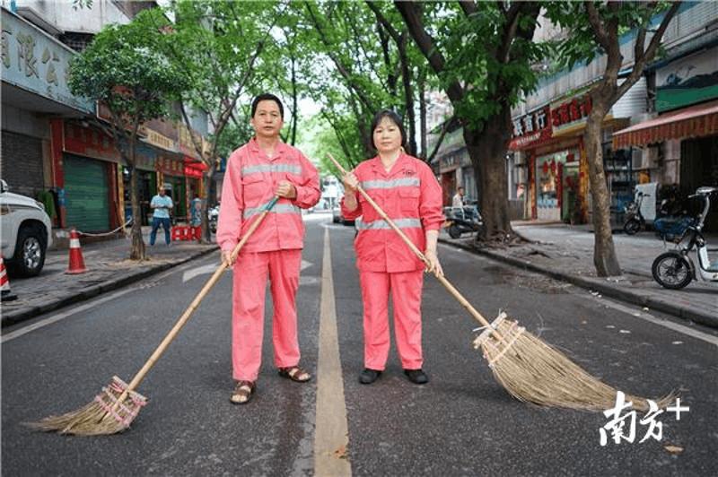 """致敬惠州""""城市美容师"""" 他们的汗水背后还有故事"""