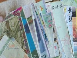 张艾凭:收藏长春地图44份 地图中感悟长春变迁