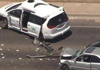 谷歌Waymo自动驾驶车遭遇车祸,有人受轻伤