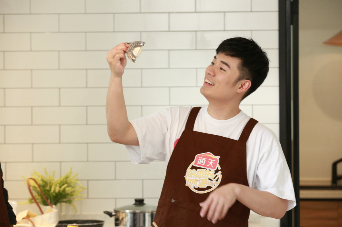 陈赫加盟《熟味》为爱下厨,包饺子也要开外挂!