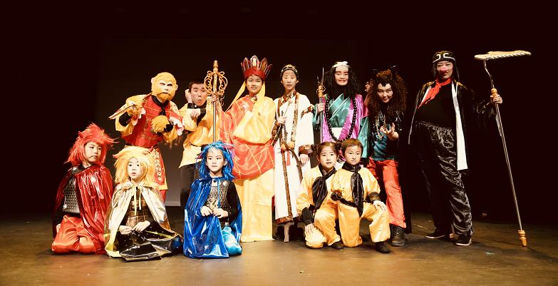 儿童音乐剧《孙悟空智斗牛魔王》在纽约百老汇公演
