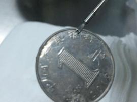 福州长乐三岁女童误吞一元钱硬币 卡食管12小时