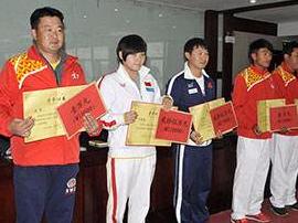 体育总局表彰运动员教练员 湖北17人登上光荣榜