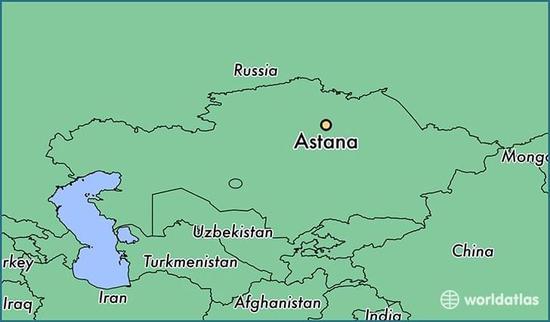 哈萨克斯坦和中国接壤