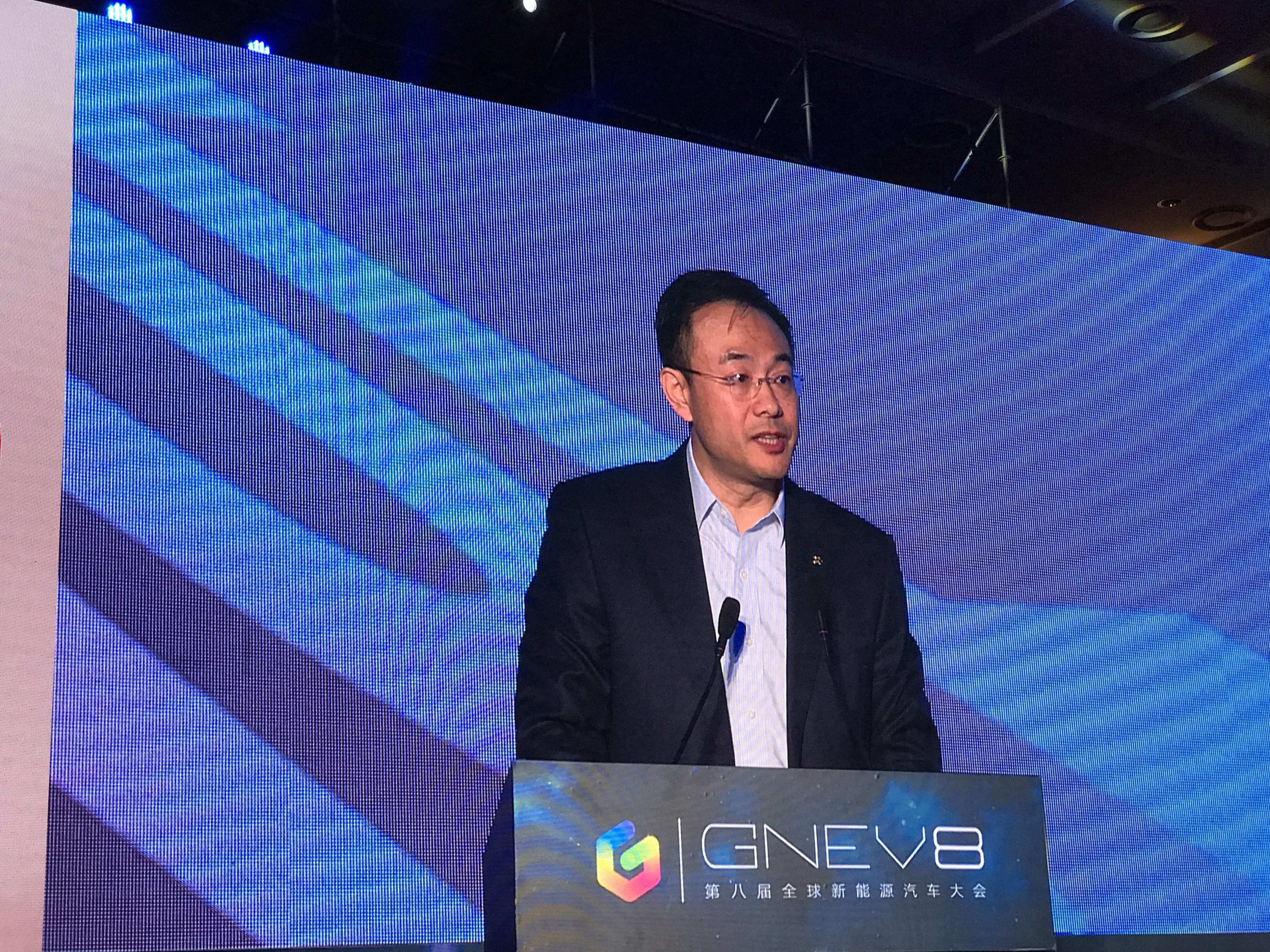 郑刚:北汽新能源产品技术平台将全面开放