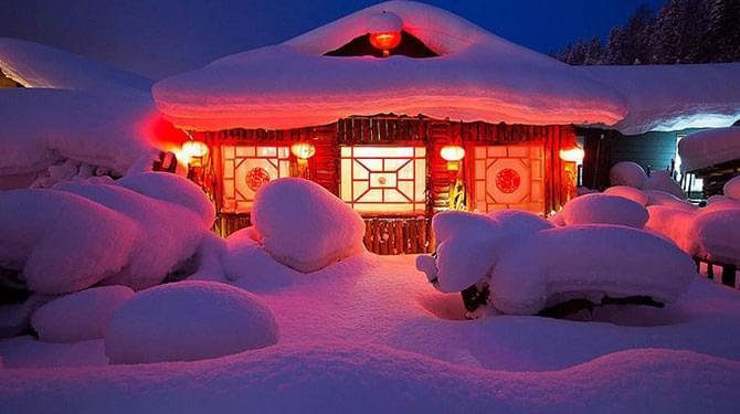 童话世界的真实雪乡
