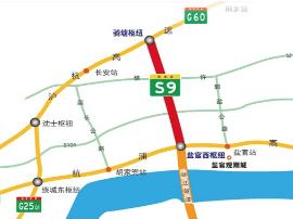 钱江通道北接线项目月底开工 连杭浦沪杭两高速