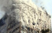 伊朗首都一高楼起火坍塌