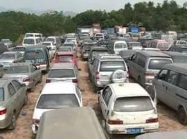 啥情况?深圳人扎堆报废车辆,三个收车场全部爆满