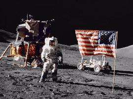 阿波罗登月真实性证据满满,月球上有大量遗留物