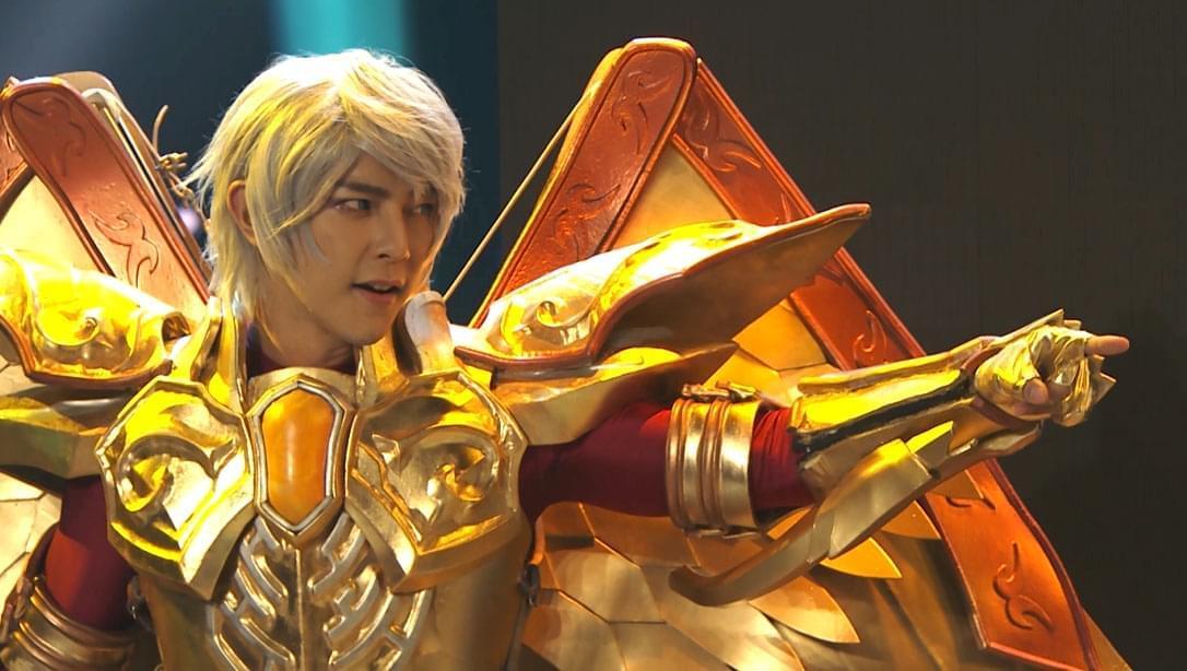 《我爱二次元》总决赛汪东城变身圣斗士