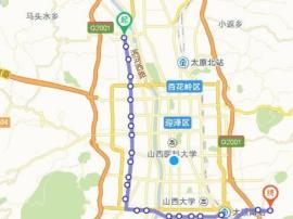太原:L形地铁2017年底启动 投资超230亿