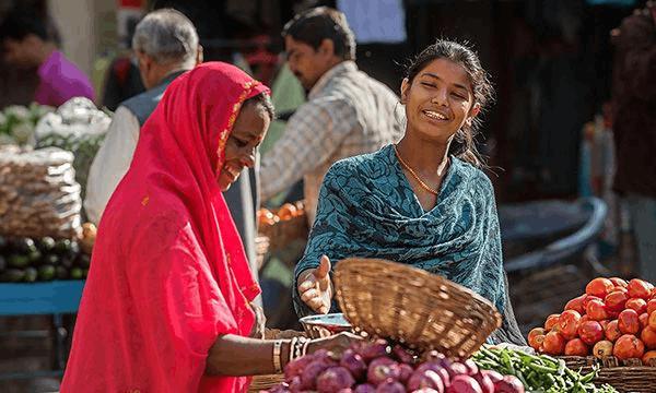 实拍印度的菜市场 这里的物价让中国人泪流满面!