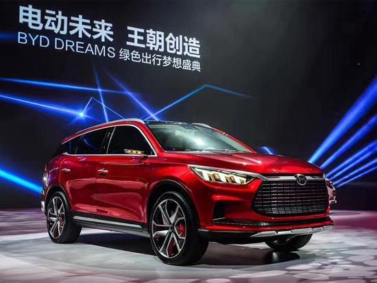 预展未来设计 比亚迪王朝概念车正式发布