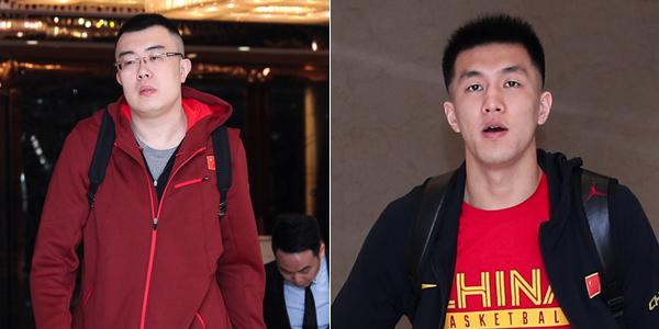 男篮蓝队赴香港征战世预赛 众将表情严肃