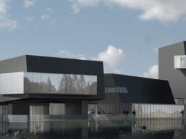 建筑诠释艺术—重庆天地·万科城市展厅明日耀世绽放