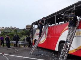 台游览车事故33名死者理赔完成 2名官员被记大过