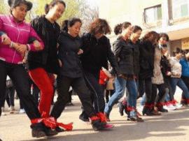 太原举办社区老年趣味运动会