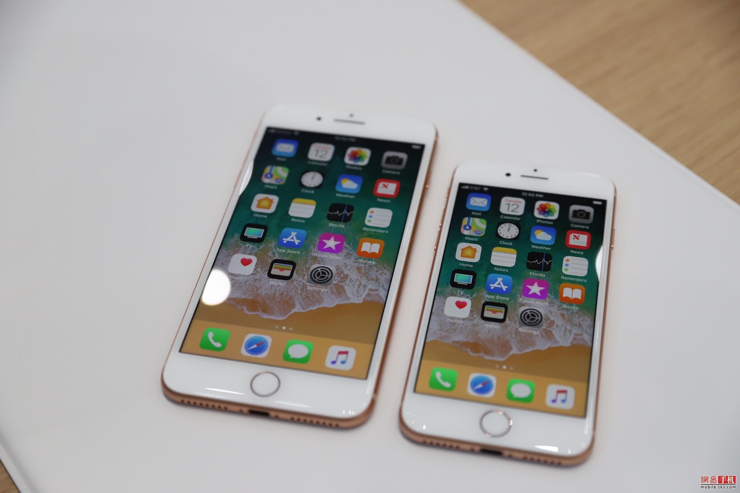 白平衡自调节 iPhone 8/8Plus屏幕再升级