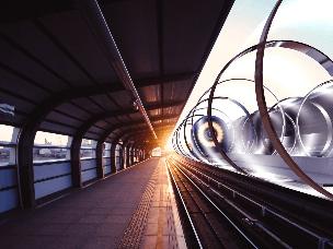 迪拜花千亿研究超级环 速度快过客机